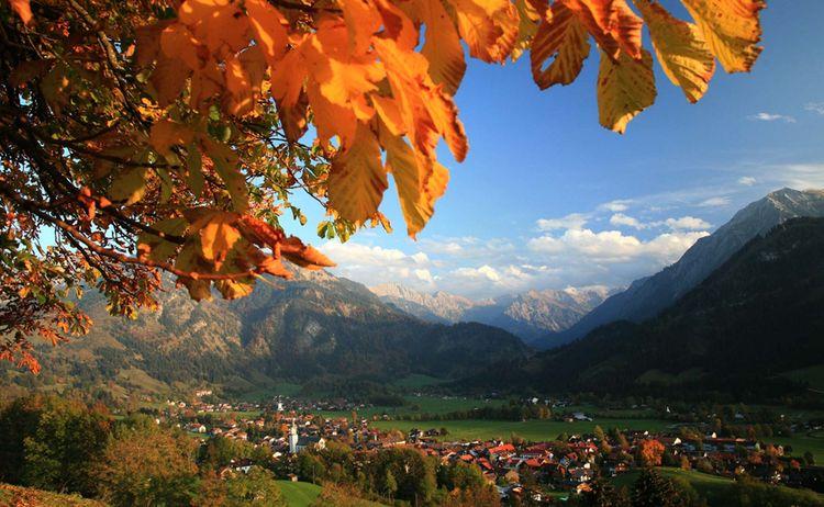 Allgaeuer Gipfelwelten Ort Bad Hindelang Copyright Allgaeu Marketing Web
