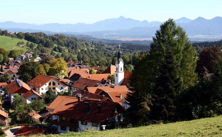 Ammergauer Alpen Bad Kohlgrub Copyright Hanspeter Schoene Web De
