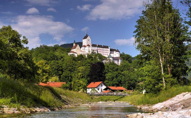 Aschau Im Chiemgau Schloss Hohenaschau Copyright J Brahms Web