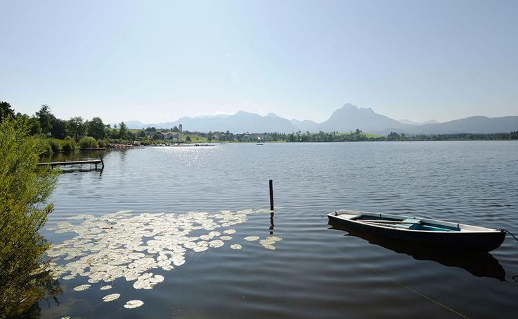 Hopfensee Fotograph Guenter Standl Copyright Fuessen Tourismus Und Marketing Web