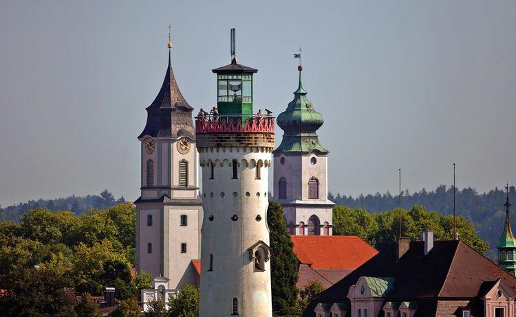 Lindau Leuchtturm Kirchtuerme Achim Mende