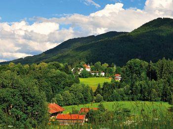 Ortsansicht Bad Heilbrunn Von Schoenau Aus Copyright Heinz Hirz Web