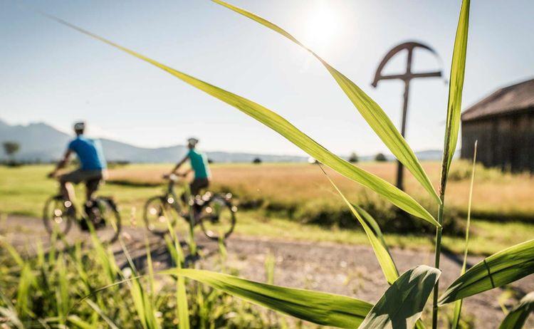 Radfahren Kochel Am See Fotograf Thomas Kujat Copyright Tourist Information Kochel Am See Web