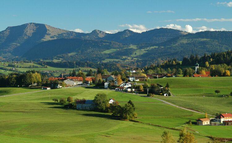 Allgaeuer Gipfelwelten Blick Auf Hochgrat Copyright Oberreute Web