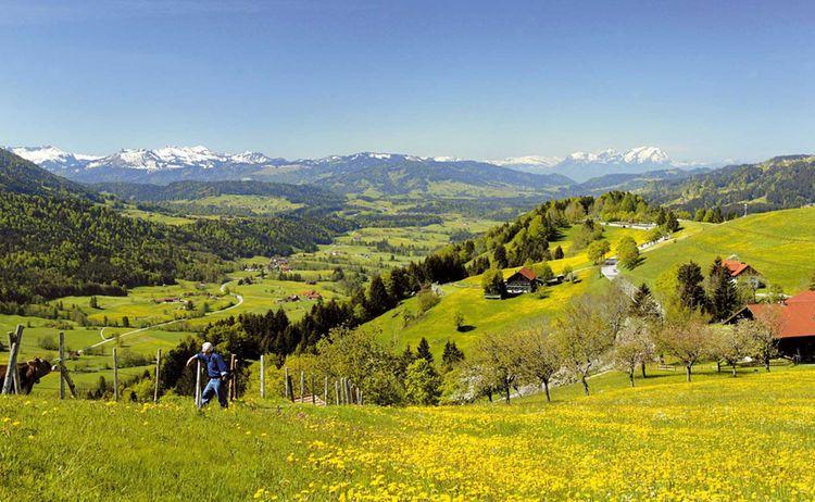 Allgaeuer Gipfelwelten Oberstaufen Paradies Copyright Oberstaufen Web