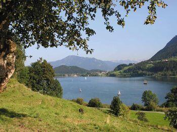 Der Große Alpsee am Weg von Oberstaufen nach Immenstadt - Bild: Immenstadt