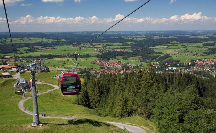 Alpspitzbahn Bei Nesselwang