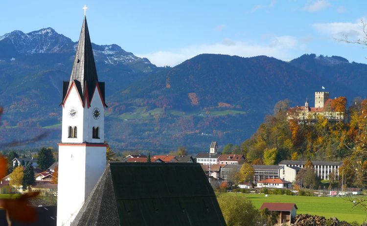 Altenbeuern Mit Schloss
