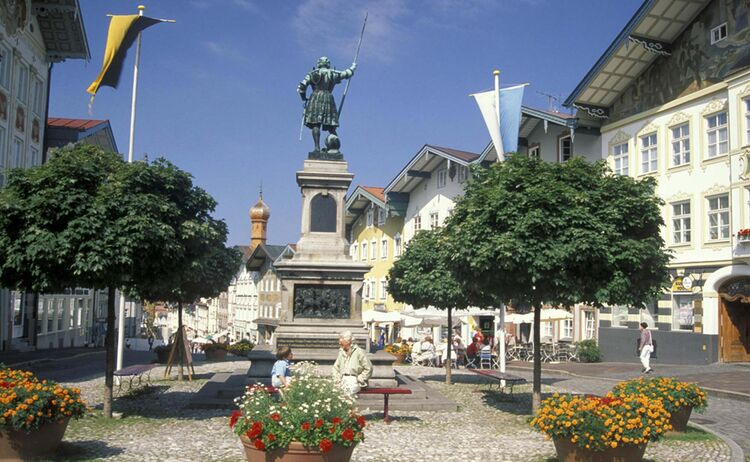 Die Marktstraße in Bad Tölz - Bild: Archiv Tourist-Info Bad Tölz