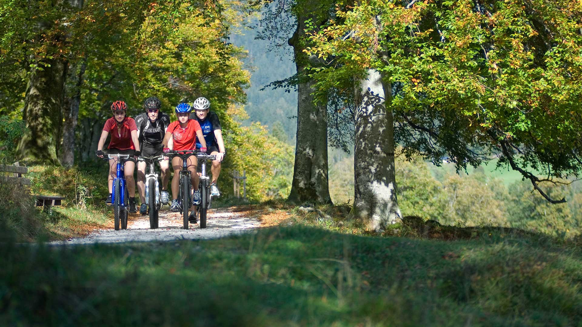 Mountainbiken im Berchtesgadener Land - Bild: BGLT