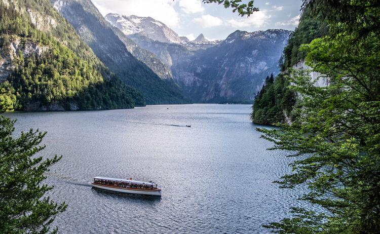 Blick Vom Malerwinkel Ueber Den Koenigssee Berchtesgadener Land Tourismus