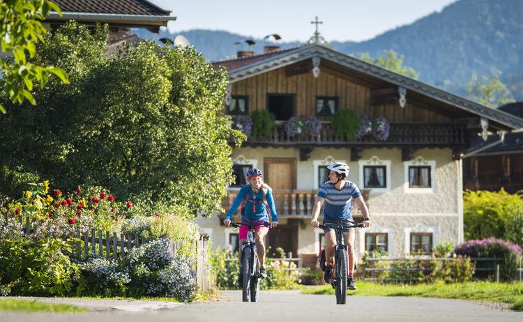 Bodensee-Königssee Radweg Bauernhaus