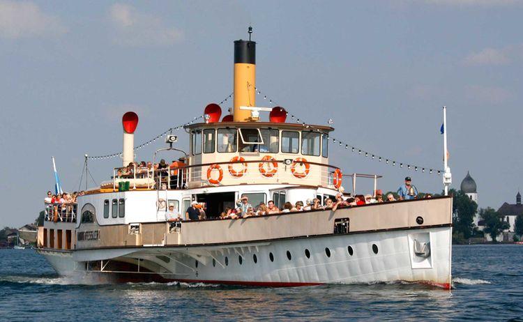 Chiemsee Schifffahrt In Prien Am Chiemsee 2