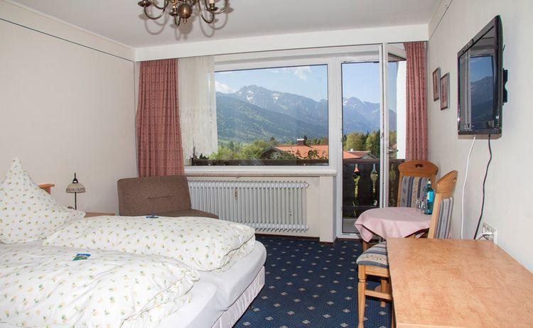 Doppelzimmer Hotel Alpenblick Berghof 1