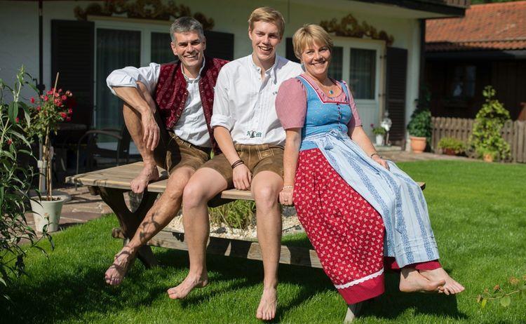 Gastgeber Familie Mayer