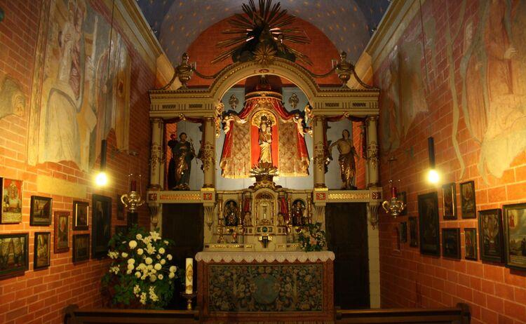 Immenstadt 01 Loretokapelle Innen Buehl Copy