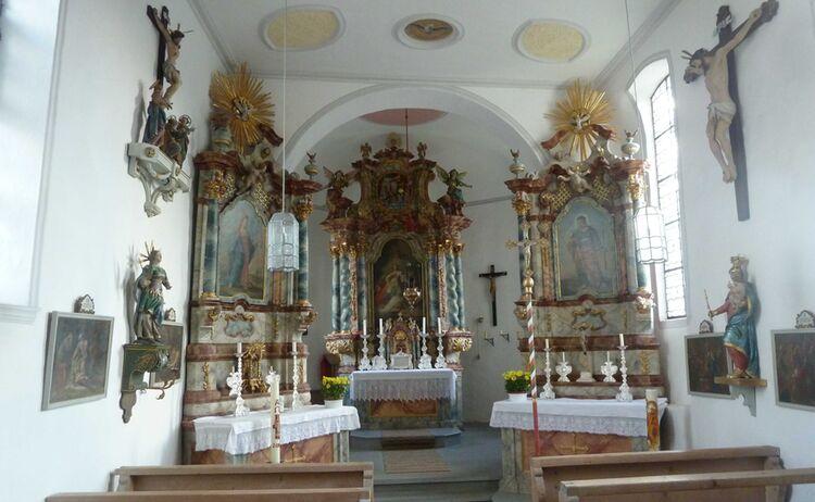 Kirche St Agatha Innen