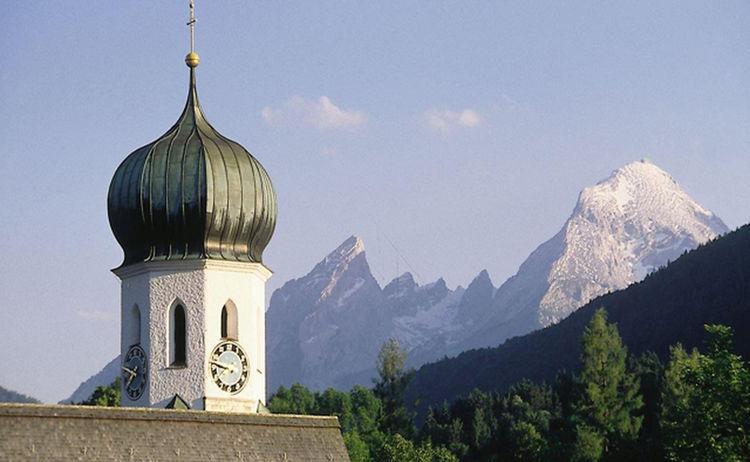 Kirche Von Bischofswiesen 1