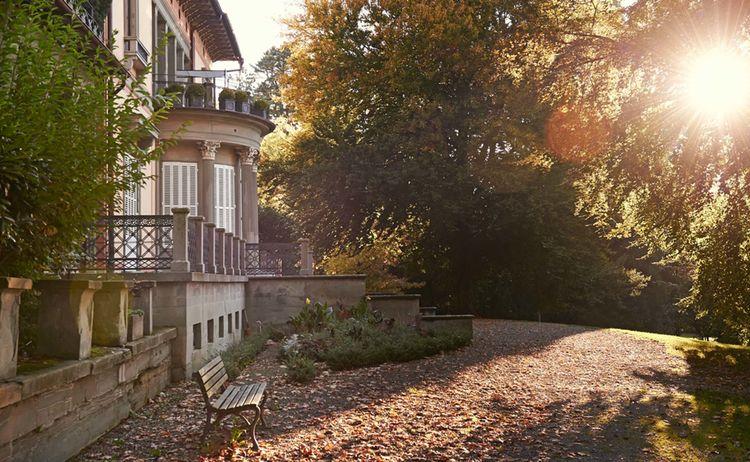 Lindenhofpark In Lindau Im Bodensee Mit Villa Lindenhof
