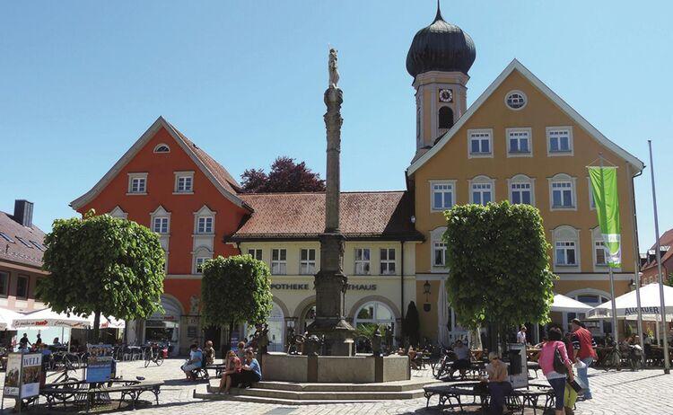 Marktplatz Oberstaufen © Oberallgäu