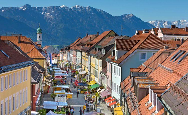 Markt Murnau Am Staffelsee 1