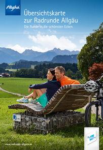 Radrunde Allgäu Übersichtskarte