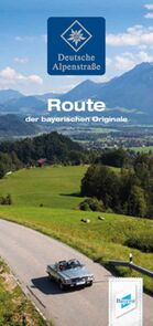 Deutsche Alpenstraße Flyer Route