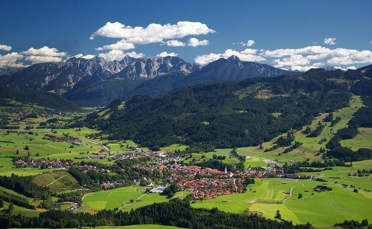 Routenteil Nesselwang Luftbild Web