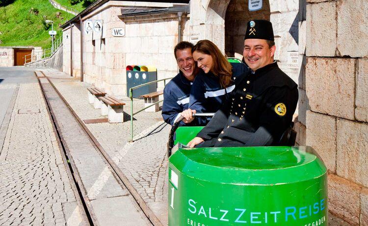 Das Salzbergwerk Berchtesgaden ist das älteste aktive Salzbergwerk Deutschlands - Bild: BGLT