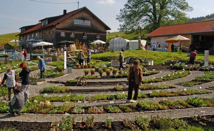 Kräutergarten Artemisia in Stiefenhofen - Bild: Westallgäu Tourismus e. V.
